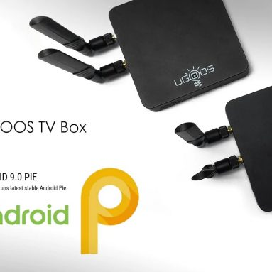 € 107 với phiếu giảm giá cho UGOOS AM6 S922X TV Box Android 9.0 - Cắm đen EU từ GEARBEST