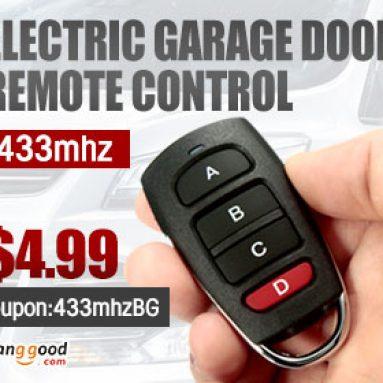 433mhz Electric Garage Door Remote Control från HongKong BangGood Network Ltd.