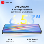 98 € z kuponem na UMIDIGI A11 Global Version Android 11 Helio G25 5150mAh 4GB 128GB 16MP AI Triple Camera 6.53 ″ HD + Smartphone od BANGGOOD