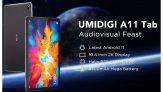 € 147 com cupom para UMIDIGI A11 Tab Helio P22 MT8768 Octa Core 4GB RAM 128GB ROM 4G LTE 10.4 Polegadas Tela 2K Android 11 Tablet da BANGGOOD