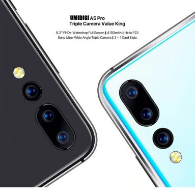 $93 with coupon for UMIDIGI A5 PRO 4G Smartphone 4GB RAM 32GB ROM Global Version from GEARVITA