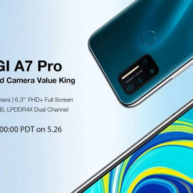 110 € UMIDIGI A7 Pro Global Bantlar için kupon ile 6.3 inç FHD + Android 10 4150mAh 16MP AI Dörtlü Kamera 3 Kart yuvası 4GB 128GB Helio P23 4G Smartphone - BANGGOOD'dan Mavi AB İSPANYA Depo