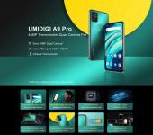 € 101 עם קופון ל- UMIDIGI A9 Pro להקות גלובליות 6.3 אינץ 'FHD + מדחום אינפרא אדום 4GB 64GB Helio P60 אנדרואיד 10 4150mAh 32MP AI מטריקס Quad מצלמה 3 חריצי כרטיסים 4G Smartphone מבית BANGGOOD