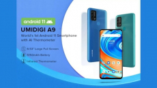 82 € cu cupon pentru UMIDIGI A9 Global Bands 6.53 inch HD + Termometru cu infraroșu Android 11 5150mAh 3GB 64GB Helio G25 13MP Camera triplă spate Octa Core Smartphone 4G de la BANGGOOD