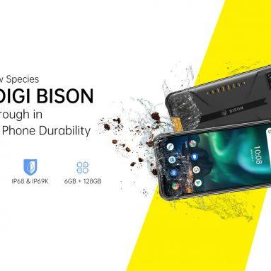 € 128 UMIDIGI BISON Global Bands IP68 & IP69K 방수 NFC Android 10 5000mAh 6GB 128GB Helio P60 6.3 인치 FHD + 48MP 쿼드 후면 카메라 24MP 전면 카메라 4G 스마트 폰 EU 버전 from BANGGOOD