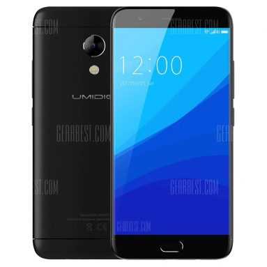 $ 129 với phiếu giảm giá cho UMIDIGI C2 4G Smartphone - 4GB RAM 64GB ROM BLACK từ Gearbest