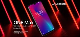 €140 with coupon for UMIDIGI One Max 6.3 Inch Global Bands 4150mAh NFC 4GB RAM 128GB ROM Helio P23 4G Smartphone from BANGGOOD