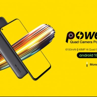 133 يورو مع قسيمة لـ UMIDIGI Power 3 Global Bands 6.53 inch FHD + Fullview Display Android 10 6150mAh NFC 48MP AI Quad Cameras 4GB RAM 64GB ROM Helio P60 Octa Core 2GHz 4G Smartphone - EU SPAIN Warehouse from BANGGOOD
