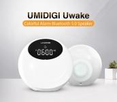 € 20 avec coupon pour UMIDIGI Uwake Wireless bluetooth Haut-parleur Portable Coloré LED Haut-Parleur Stéréo Musique Surround Réveil Veilleuse de BANGGOOD
