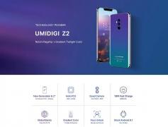 € 210 z kuponem na UMIDIGI Z2 4G Phablet 6GB + 64GB - TWILIGHT od GearBest