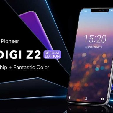 $169 with coupon for UMIDIGI Z2 Special Edition 4G Phablet – CARBON FIBER BLACK from GearBest