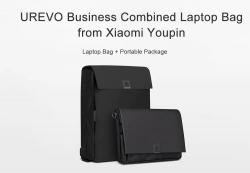 $ 42 с купоном для UREVO Business Combined Laptop Bag от Xiaomi Youpin - BLACK LAPTOP BAG + сумка для сумки от GearBest