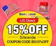 15% OFF for All Products in US Warehouse! from BANGGOOD TECHNOLOGY CO., LIMITED