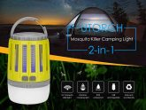 $10 with coupon for UTORCH 2-in-1 Mosquito Killer Camping Light – Yellow from GEARBEST