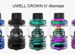 $23 with coupon for UWELL CROWN IV Atomizer – Silver from GearBest