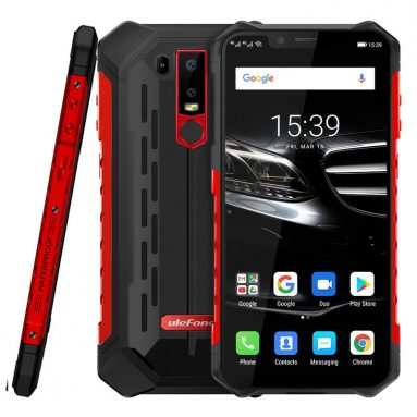 158 يورو مع كوبون لـ Ulefone ARMOR 6E NFC IP68 IP69K مقاوم للماء 6.2 بوصة 4GB 64GB Helio P70 Octa core 4G Smartphone - Red EU Version من EU SPAIN BANGGOOD