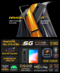 €285 with coupon for Ulefone Armor 12 5G MTK Dimensity 700 6.52 inch 8GB 128GB 48MP Quad Camera NFC 5180mAh Wireless Charge IP68 IP69K Waterproof Rugged Smartphone from BANGGOOD