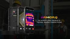 380 € s kupónom pre Ulefone Armor 9 IP68 IP69K Vodotesný 6.3 palcový 8 GB 128 GB 64 MP fotoaparát NFC 6600 mAh Helio P90 Octa Core 4G Smartphone - čierna verzia EÚ od BANGGOOD