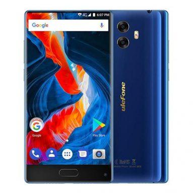 Ulefone MIX 4+64GB Blue on sale! from Geekbuying INT