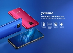 € Ulefone Power kuponlu 124 6 6.3 inç 6350mAh 16MP Çift Arka Kamera NFC 4GB 64GB BIOGOOD'dan Helio P35 Sekiz Çekirdekli 4G Akıllı Telefon