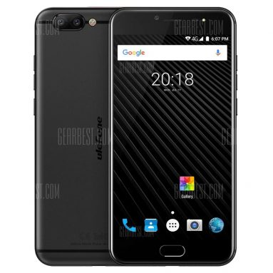 $193 with coupon for Ulefone T1 4G Phablet  –  BLACK from GearBest