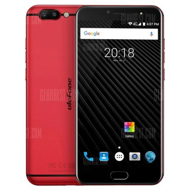 $199 flashsale for Ulefone T1 4G Phablet  –  RED EU warehouse from GearBest
