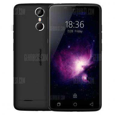 $ 97 với phiếu giảm giá cho Ulefone Vienna 32GB ROM 4G Phablet - BLACK từ GearBest