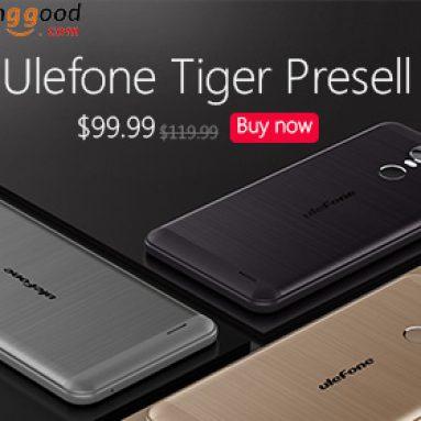 Presale: Ulefone Tiger $ 20 OFF từ CÔNG TY TNHH CÔNG NGHỆ BANGGOOD
