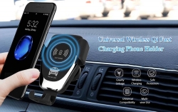 $9 with coupon for Universal Wireless Qi Fast Charging Car Charger Air Vent Phone Holder from GearBest