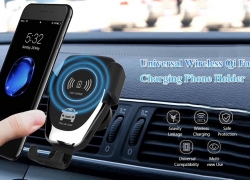 $34 with coupon for Xiaomi Mi WCJ02ZM 20W Qi Car Wireless Charger with Intelligent Infrared Sensor Fast Charging Car Phone Holder from BANGGOOD