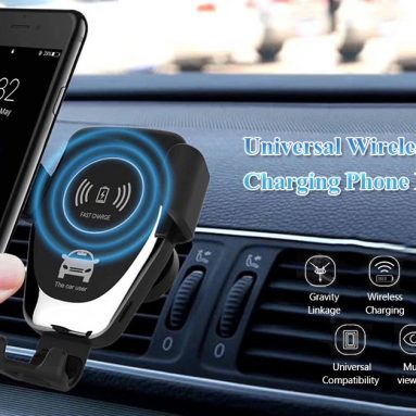 $29 with coupon for Xiaomi Mi WCJ02ZM 20W Qi Car Wireless Charger with Intelligent Infrared Sensor Fast Charging Car Phone Holder from BANGGOOD