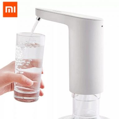 €16 with coupon for [Upgrade Version] Original XIAOMI HD-ZDCSJ01 Automatic Rechargeable USB Mini Touch Switch Water Pump Wireless Electric Dispenser with TDS Water Test Water Pumping Device – White from BANGGOOD