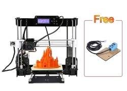 €114 with coupon for Upgraded Anet A8 High Precision 3D Printer Kits With 10 Meters Filament And 8GB Memory Card Free Auto Self-leveling Device GERMANY WAREHOUSE from TOMTOP