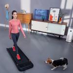 186 يورو مع كوبون لـ Urevo U1 Fitness Walking Pad رفيع للغاية جهاز المشي الذكي معدات الصالة الرياضية جهاز التحكم عن بعد شاشة LED الخارجية في الأماكن المغلقة من مستودع EU CZ BANGGOOD
