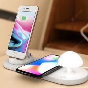 €23 with coupon for Utorch B06 Wireless Fast Charging USB Touch Night Light from GearBest