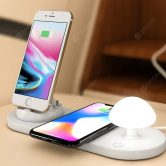 €21 with coupon for Utorch B06 Wireless Fast Charging USB Touch Night Light from GearBest