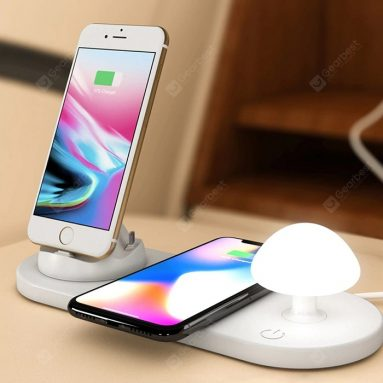 €18 with coupon for Utorch B06 Wireless Fast Charging USB Touch Night Light from GearBest