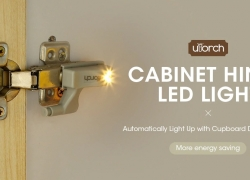 $3 with coupon for Utorch Cabinet Hinge LED Sensor Light – WARM WHITE 10PCS from Gearbest