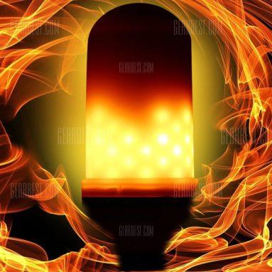 Utonch E5 용 쿠폰이있는 27 LED 불꽃 효과 전구 AC 85 - 265V - WHITE from GearBest