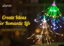$3 with coupon for Utorch Fireworks Style Copper Line String Light – SILVER COLORFUL LIGHT from GearBest