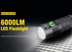 $ 43 sa kupon para sa Utorch Sofirn SP36 6000LM LED Flashlight mula sa Gearbest