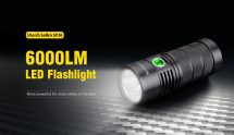 $42 with coupon for Utorch Sofirn SP36 6000LM LED Flashlight from Gearbest