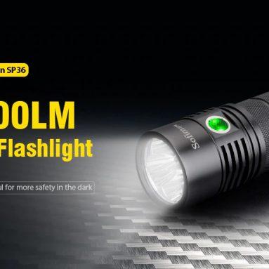 $ 43 với phiếu giảm giá cho đèn pin LED Utorch Sofirn SP36 6000LM từ Gearbest