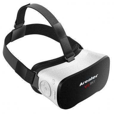 """46% הנחה + תוספת € 30 הנחה קופון רילר VR SKY All-in-One 3D משקפיים w / משלוח חינם מ TOMTOP טכנולוגיה ושות 'בע""""מ"""