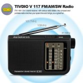 49% OFF Retekess V-117 Multiband Radio Receiver,limited offer $12.99 from TOMTOP Technology Co., Ltd