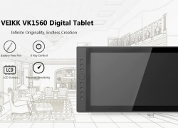 $319 with coupon for VEIKK VK1560 15.6 inch Digital Tablet LCD IPS Drawing Monitor – BLACK EU PLUG from GearBest