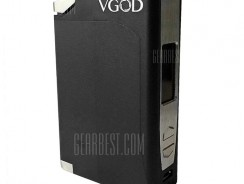 $136 with coupon for VGOD ELITE 200W Black Limited Edition for E Cigarette  –  BLACK from GearBest