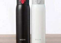 €13 with coupon for VIOMI From XIAOMI Youpin 300ML Stainless Steel Thermose Double Wall Vacuum Insulated Water Bottle Drinking Cup Drinking Bottle – Black from BANGGOOD