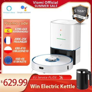 486 € mit Gutschein für VIOMI S9 UV Roboter-Sauger-Mop aus EU-Lager ALIEXPRESS (Gratisgeschenk)