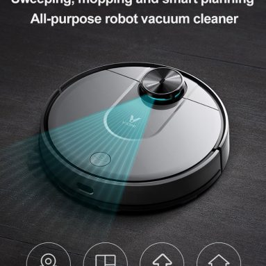 292 € med kupong för XIAOMI VIOMI V2 Smart Robot Dammsugare 2150Pa Suction Intelligent Route Plan Sweep and Mop Xiaomi Mijia APP Kontroll EU CZ WAREHOUSE från BANGGOOD